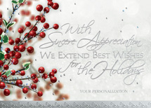 Berries & Wishes Holiday Cards